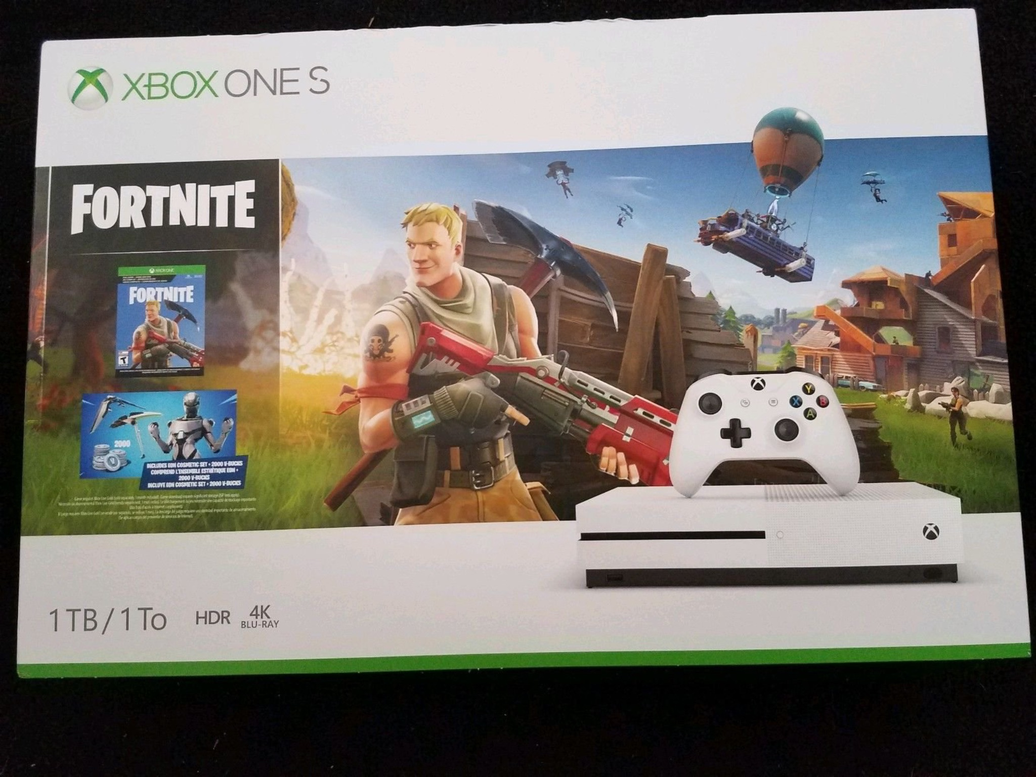 eon xbox one s bundle - how to redeem fortnite code on xbox one