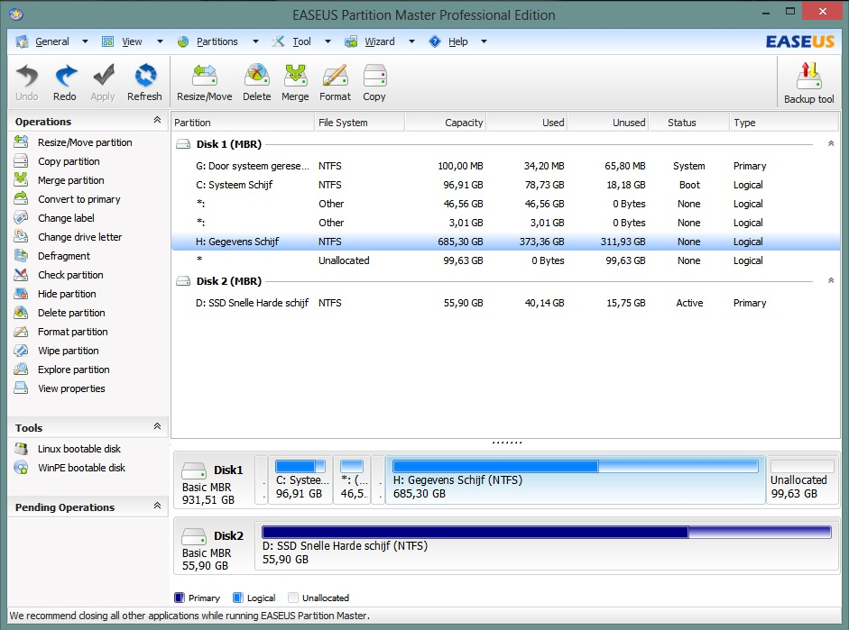 Partitie Vergroten Windows 8.C Partitie Vergroten Microsoft Community