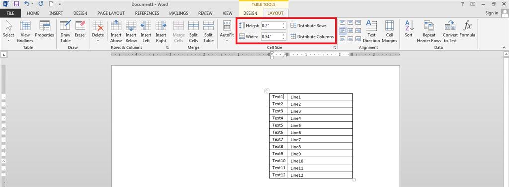 Publisher 2013: Tables: Distribute rows/columns - Microsoft Community