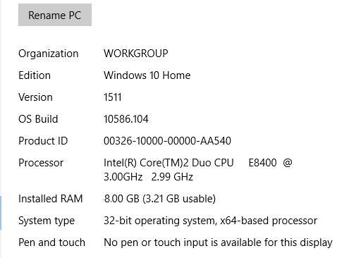 Upgrade to Windows 10 64-Bit from 32-Bit? - Microsoft Community