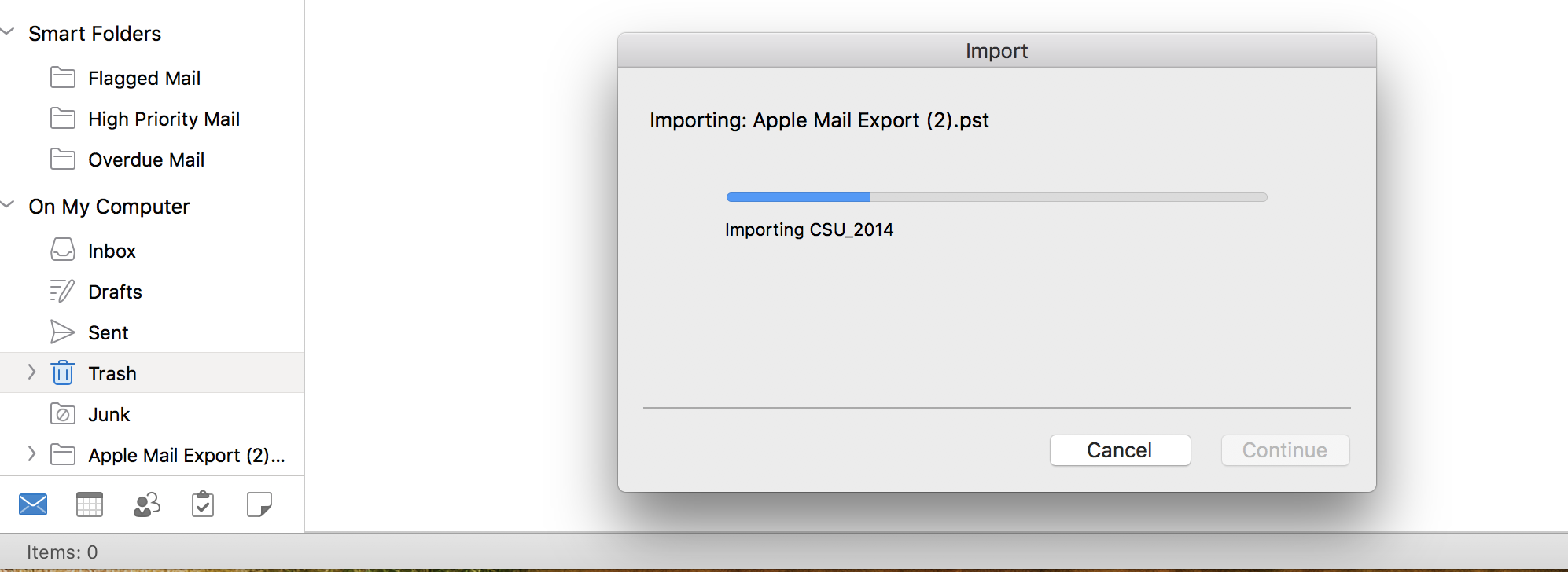 Outlook for Mac – How to Import PST files and Export to PST Files?