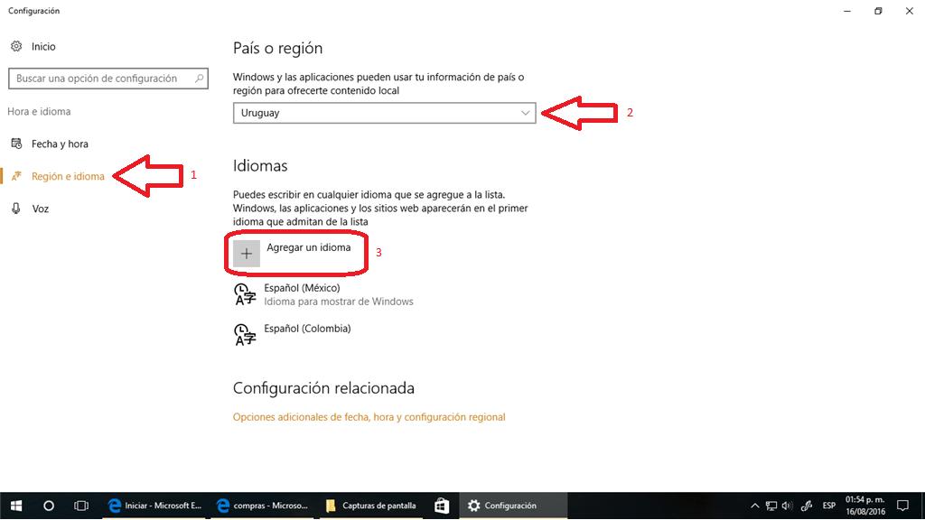 descargar reconocimiento de voz para windows 10 en español