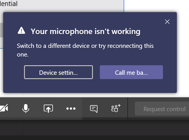 Surface Headphone's Microphone stops working while on Audio