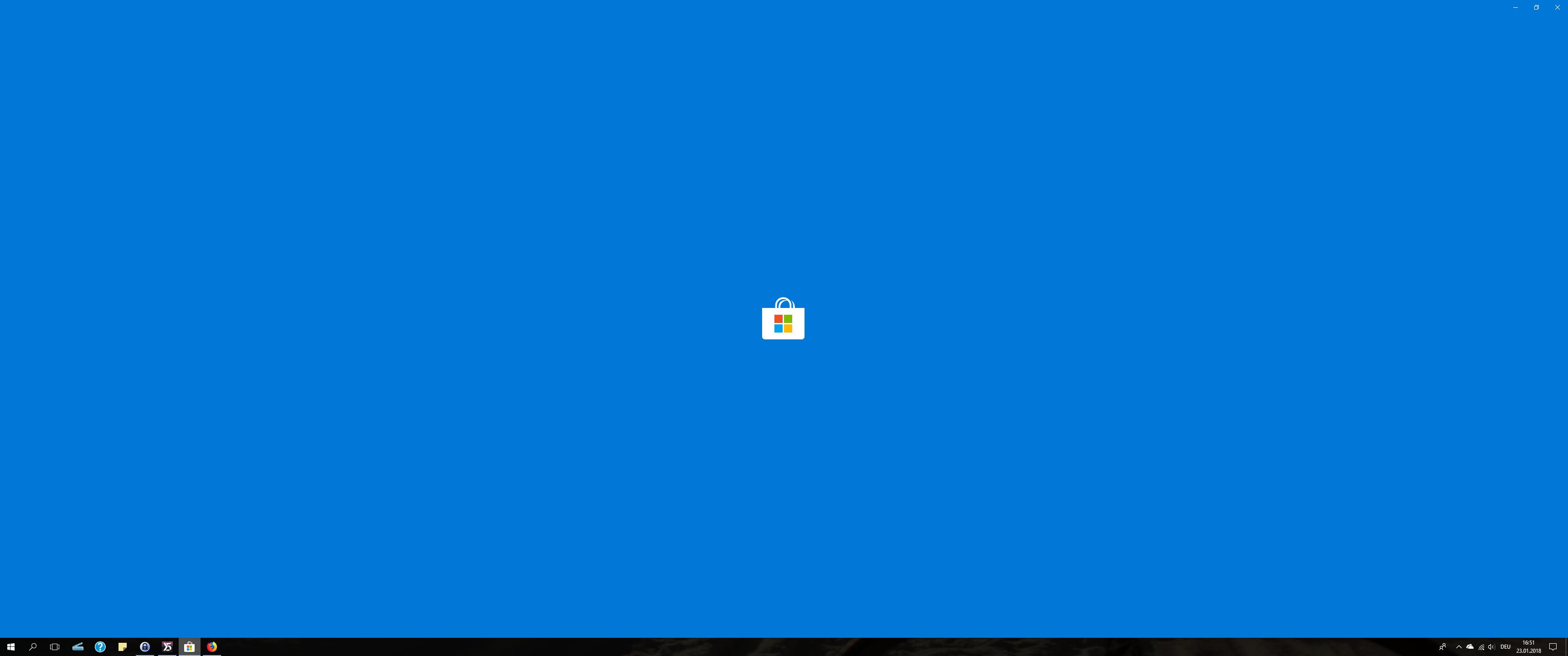 Microsoft Store lässt sich nicht starten
