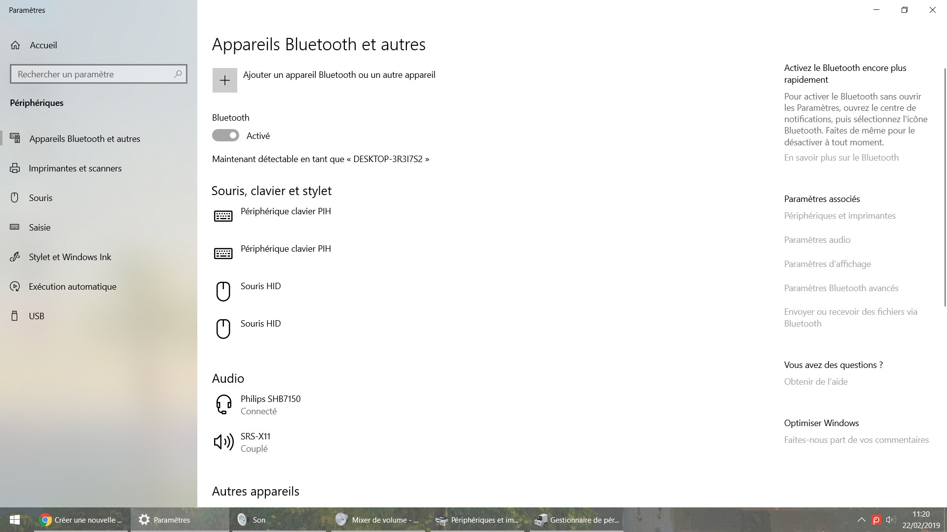 2 casques bluetooth windows 10