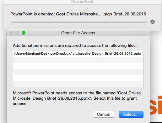 office 2016 for mac grant access error - Microsoft Community
