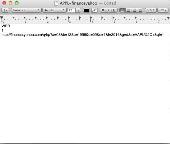 web query excel mac 2011