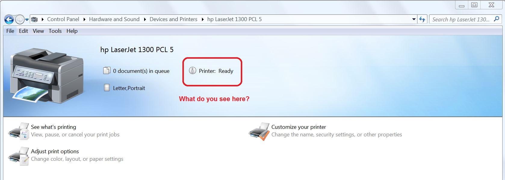 Windows 7 Won T Accept New Printer Driver Microsoft Community