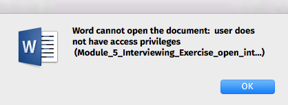 microsoft word not opening mac