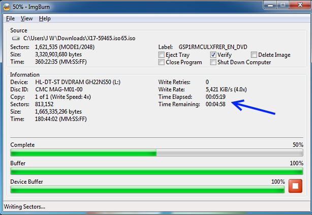 how to make bootable usb windows 7 imgburn