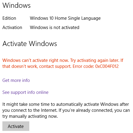 Cant activate windows 10 microsoft community and id like to add my other problem is that one night when i open my microsoft office 2016 i bought a new one because i badly needed microsoft office at ccuart Gallery