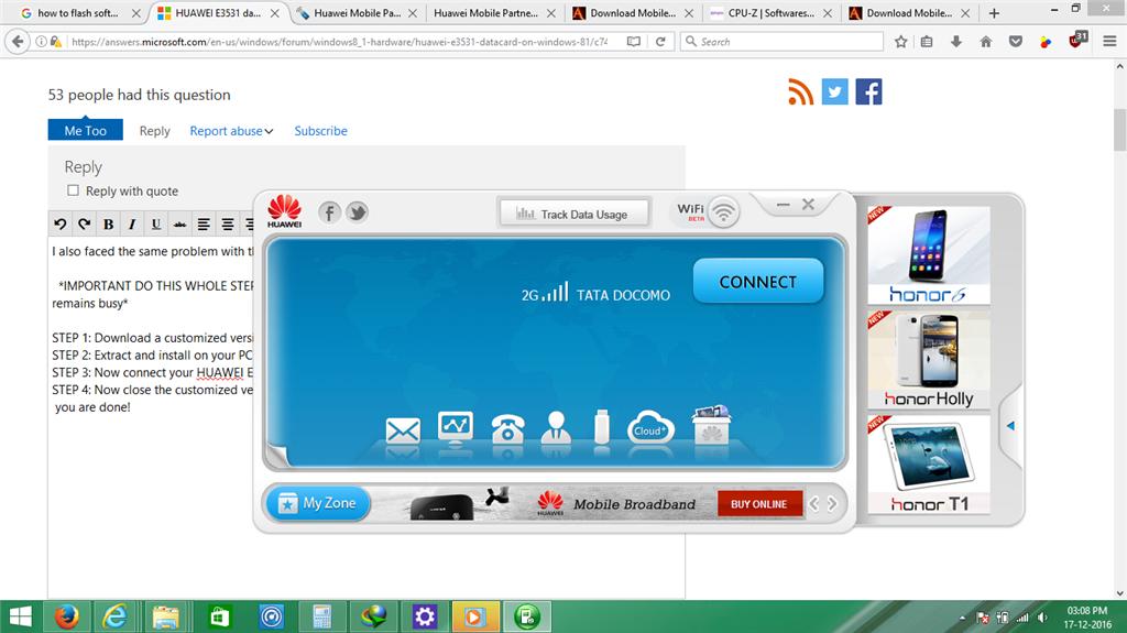 Fix] huawei modem device not found problem win 8 youtube.