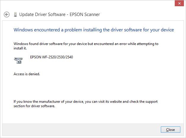 2530 wf scanner driver epson