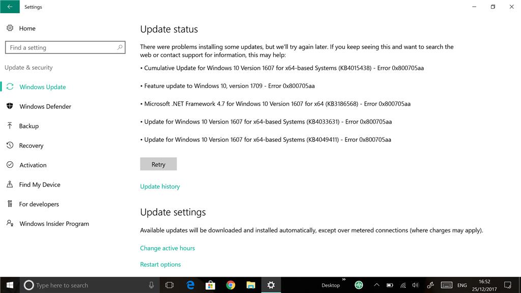 Windows update - Microsoft Community