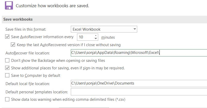 Excel File Document Recovery: Document is not there    - Microsoft