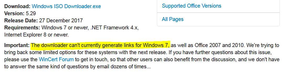Windows 7 download - Microsoft Community