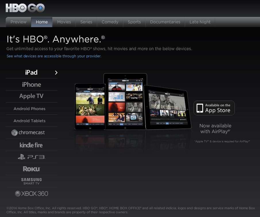 download hbo