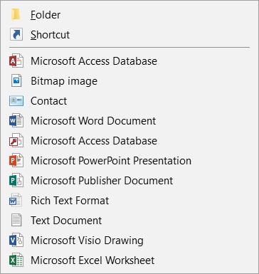 Windows 10 1809 > Right click > New - Explorer Crash