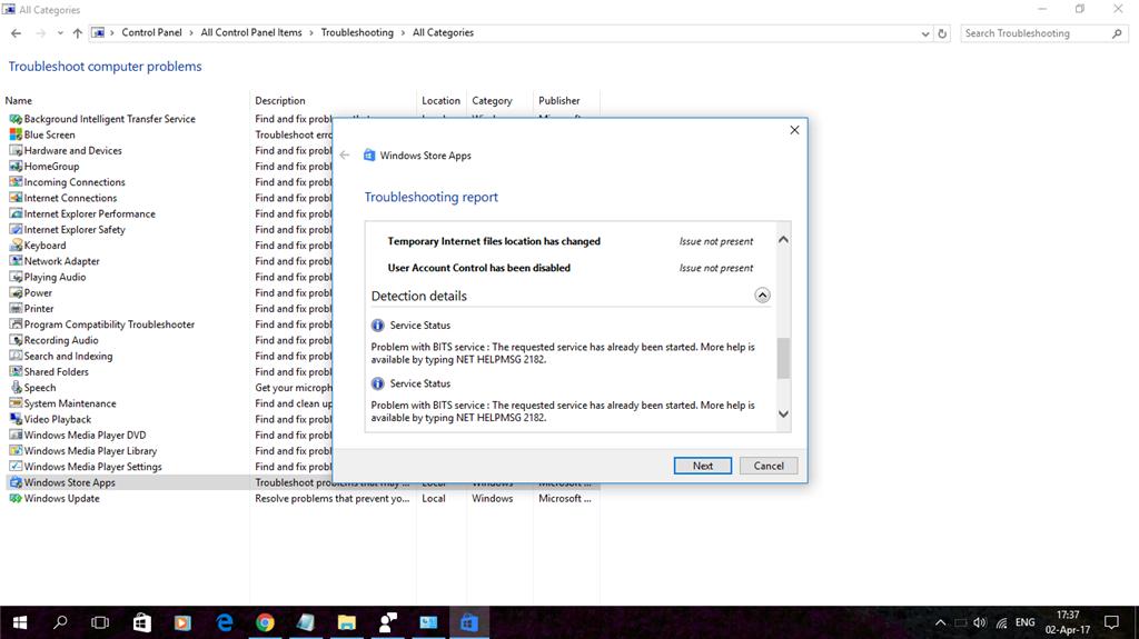 Windows 10 Pro N app store cache may be damaged  - Microsoft
