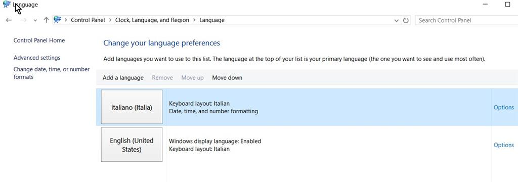 Problems in installing a language pack in Windows 10 - Microsoft