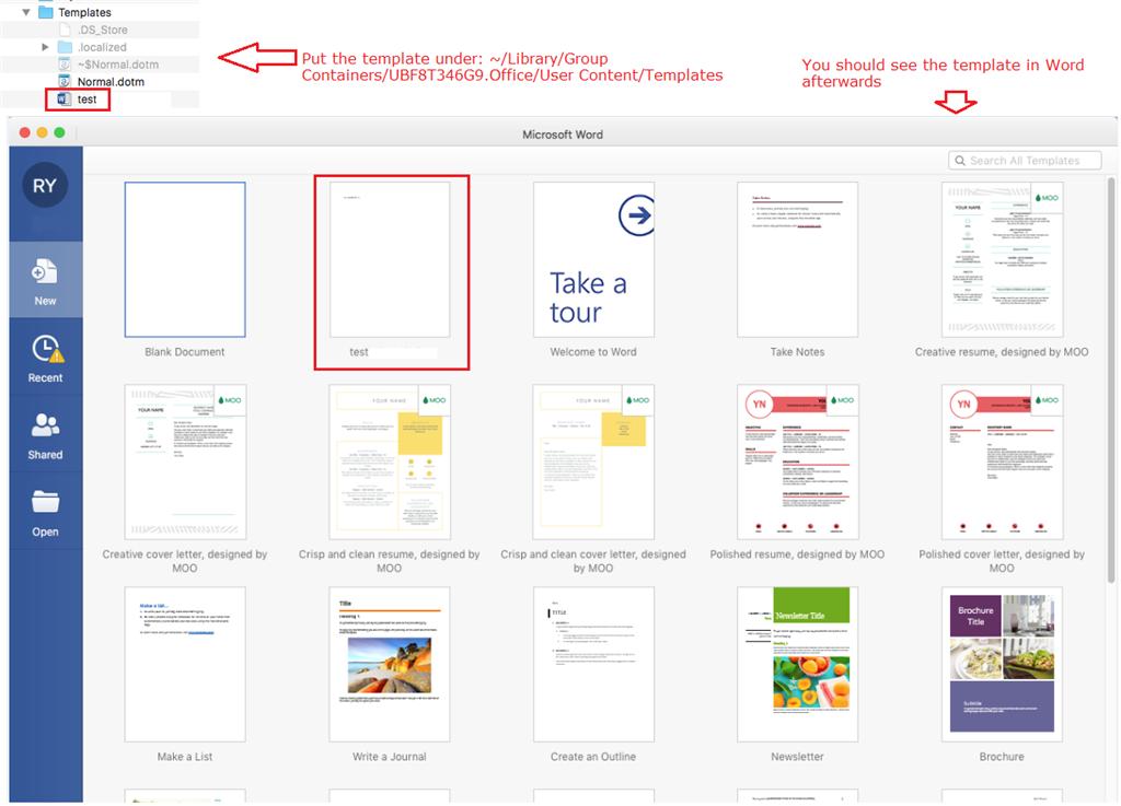 Dotx Files On A Mac Microsoft Community