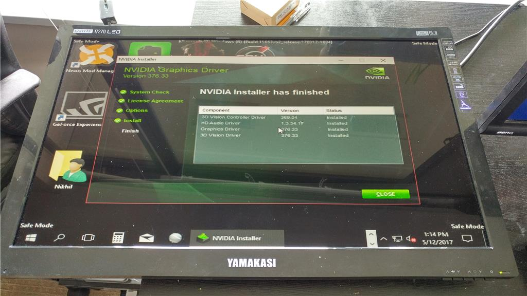 Monitor Works in Safe Mode, But No Signal Otherwise