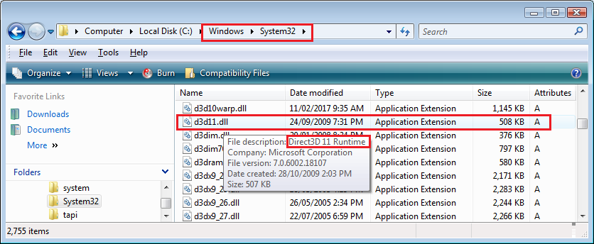 Windows Errors How To Fix Microsoft.directx.direct3d.dll Errors