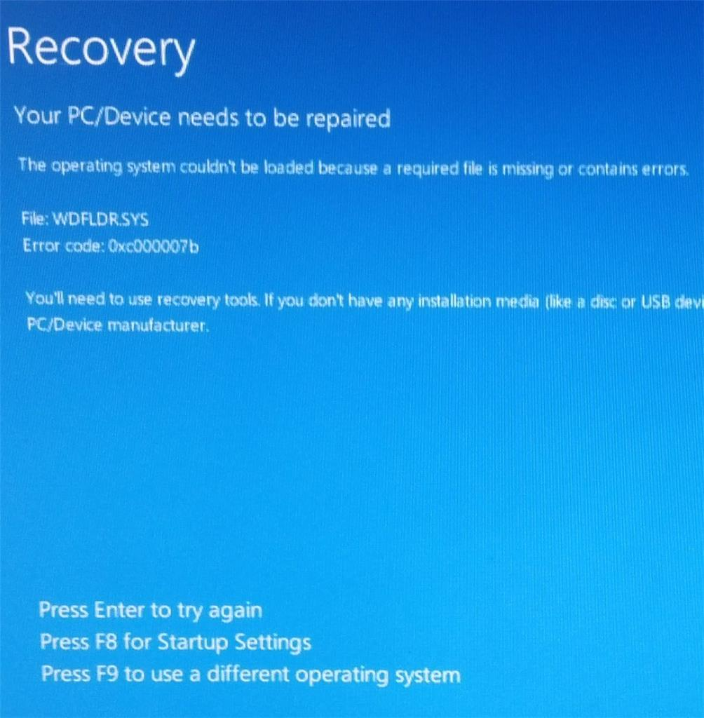 BSOD on boot after latest Windows 10 Update - Microsoft