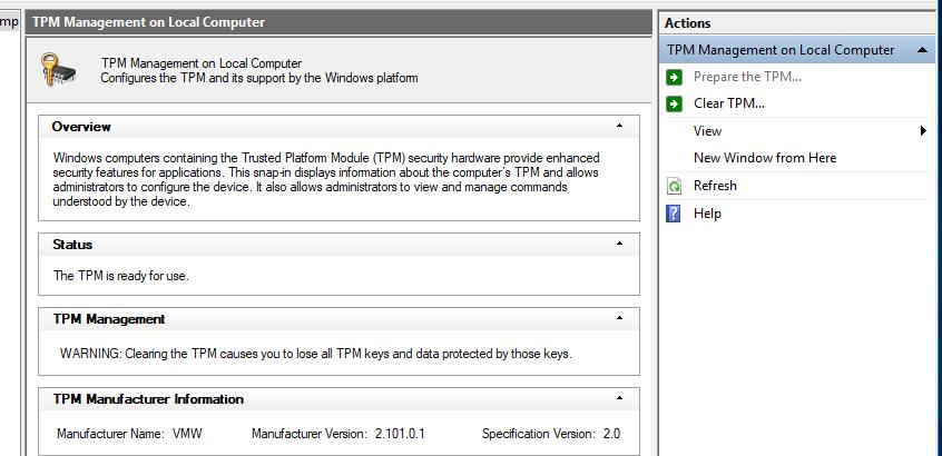 Missing TBS Service - Microsoft Community