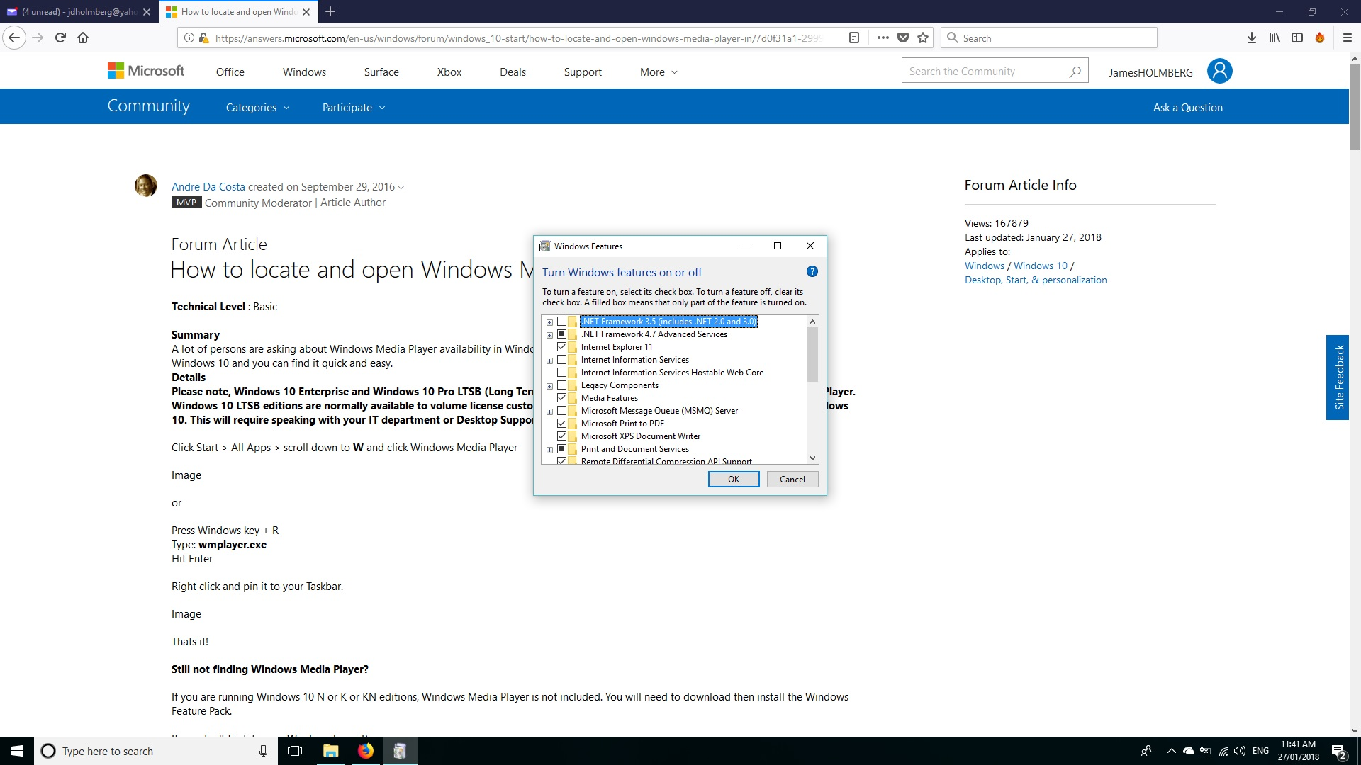 How to locate and open Windows Media Player in Windows 10