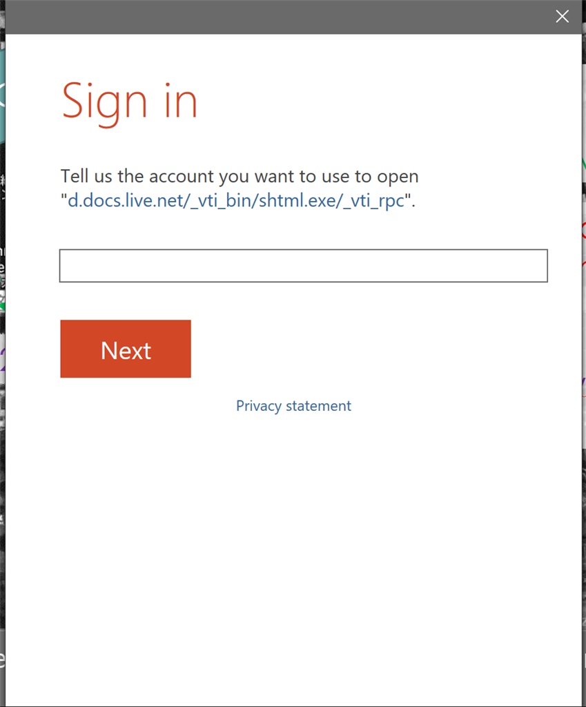 Unable to sync Powerpoint file due to OneDrive login loop