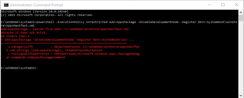 windows 10 apps won t open microsoft community