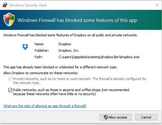 firewall blocking steam games