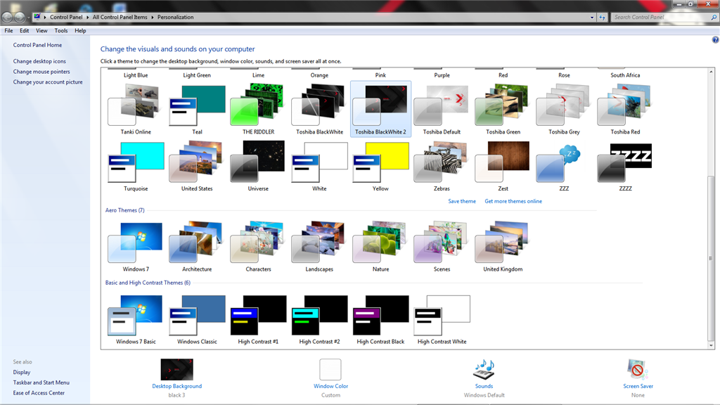 Windows 7 - Service Pack 2 - With More Theme Features, Fixes