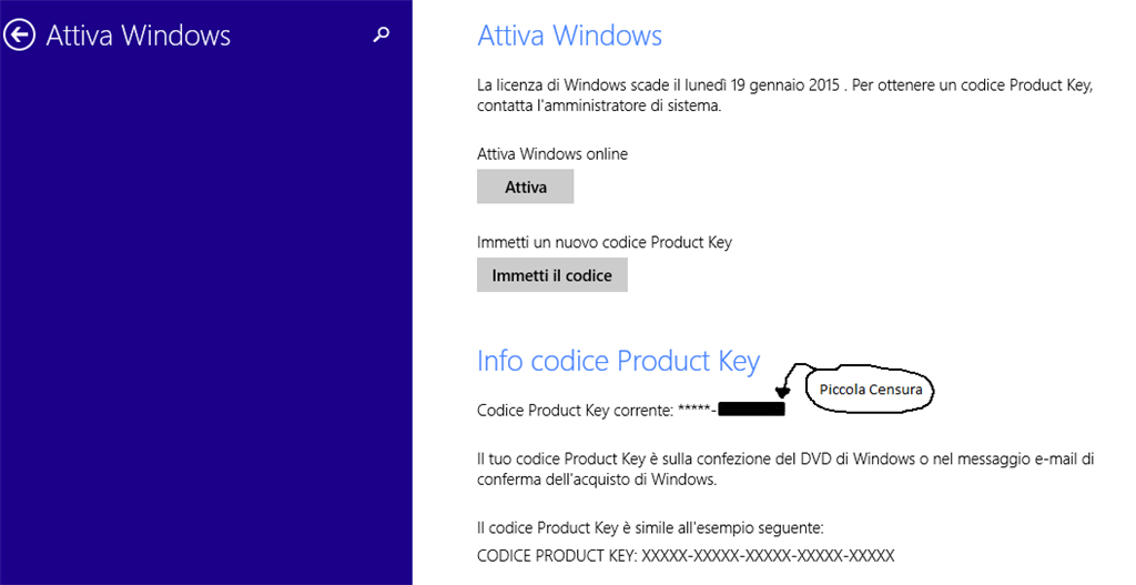 La licenza di windows sta per scadere microsoft community for La licenza di windows sta per scadere