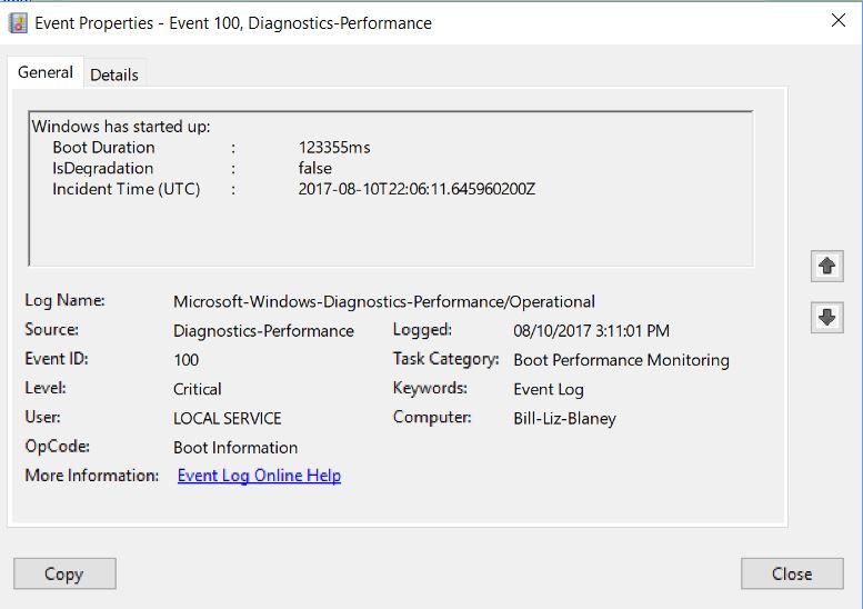 My computer is slow starting up windows 10 | My Windows