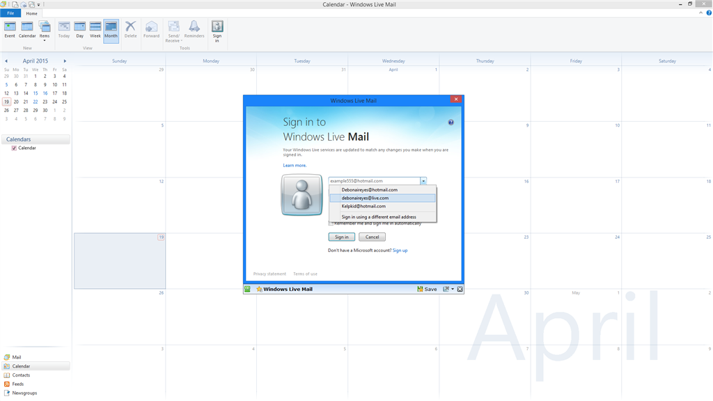 windows live mail in doesn t show contacts microsoft community