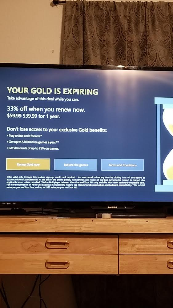 12 Months Xbox Live Gold Promotion Issues - Microsoft Community