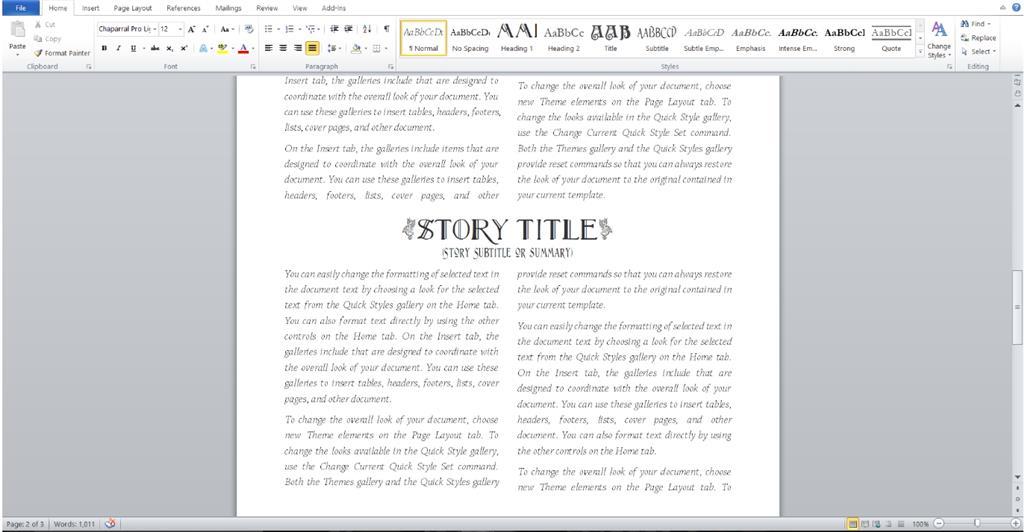 Microsoft Word Style Templates Microsoft Community