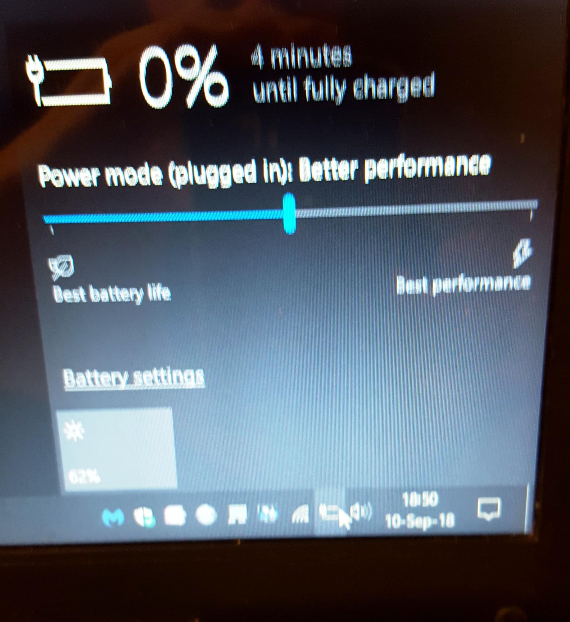 New Laptop Battery Not Charging - Microsoft Community