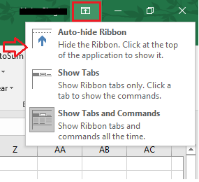 Scroll Bar Not Working in Excel 2016 Version - Microsoft Community