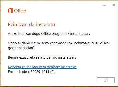 como instalar el paquete de microsoft office