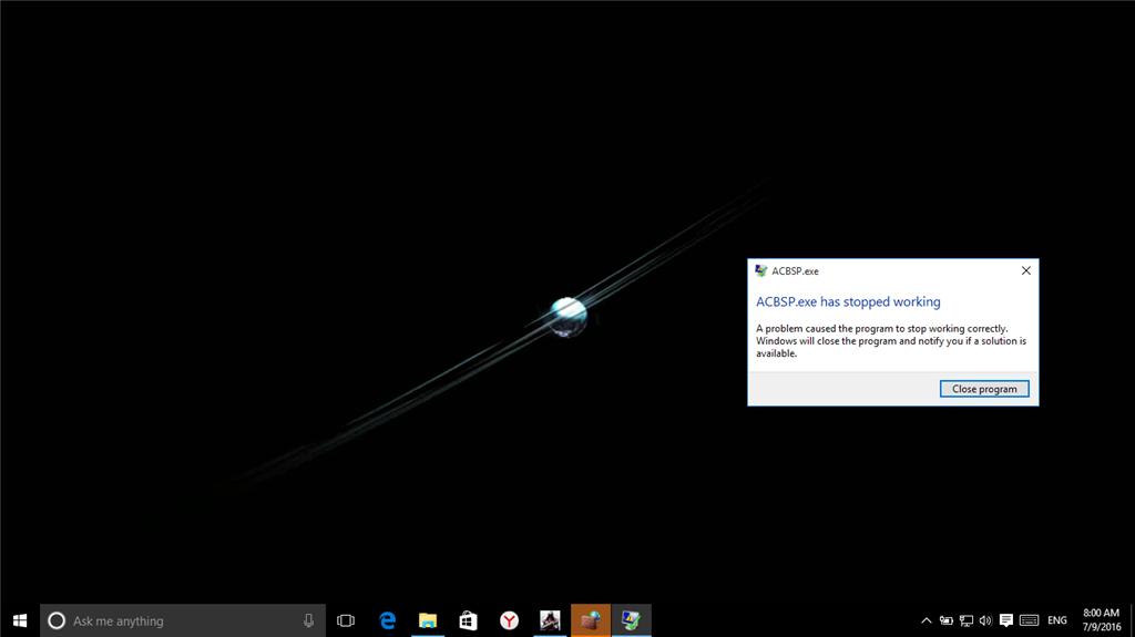 Assassin's Creed Crashes on Windows 10 - Microsoft Community
