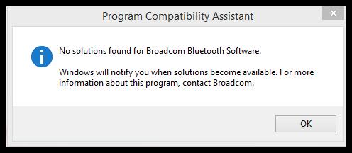 Broadcom Bluetooth Drivers