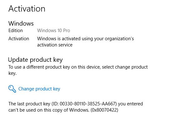 windows 10 pro product key 2018 march
