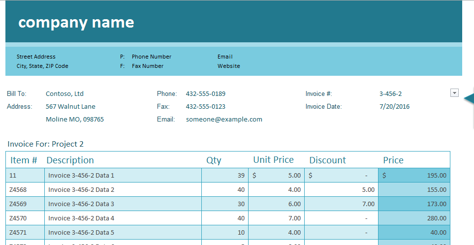 Excel Template Sales Invoice Tracker Help Question Microsoft Community