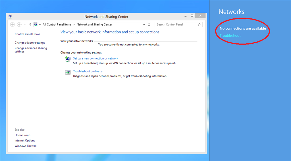 manually connect to a wireless network windows 8 missing