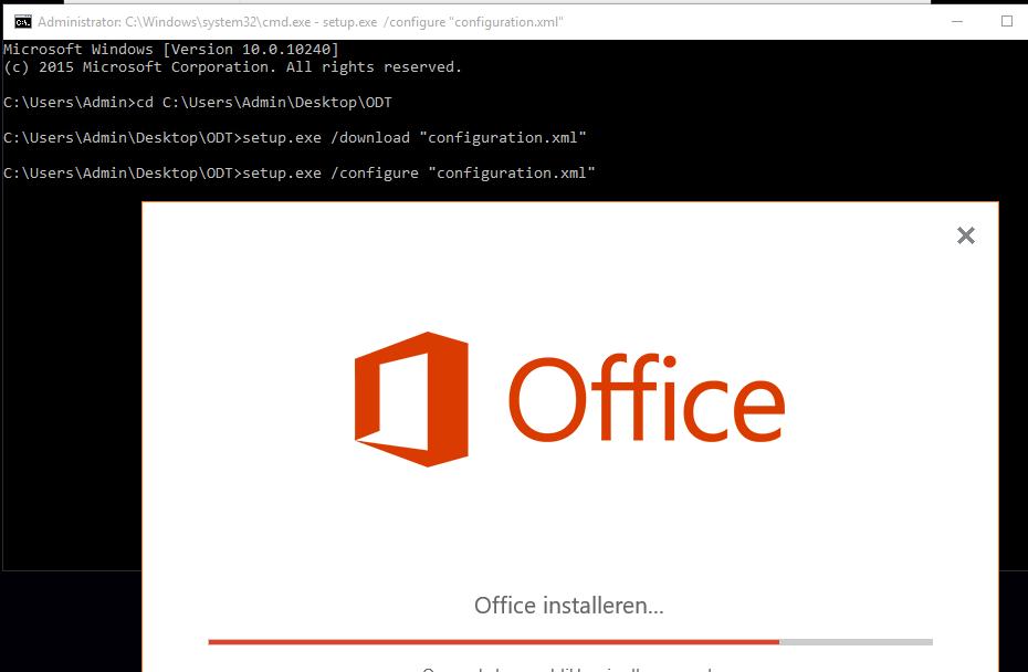 Office Deployment Tool Error Code: 30029-1007 (0) - Microsoft Community
