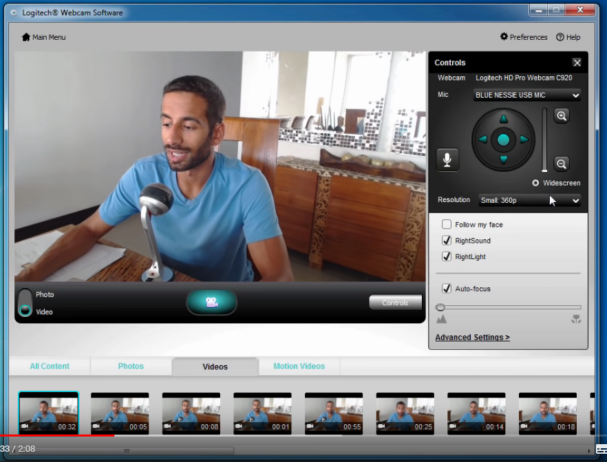 Logitech Hd Pro Webcam C910 Microsoft Community