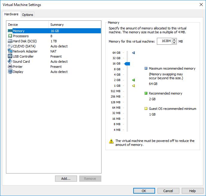 Using bcdedit /set groupsize on Windows Server 2016 makes